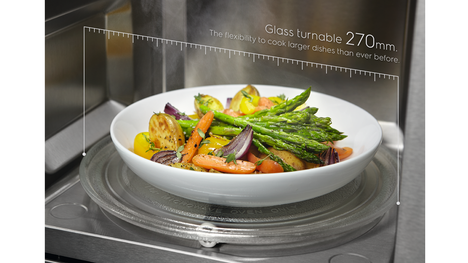 Larger dishes than ever before