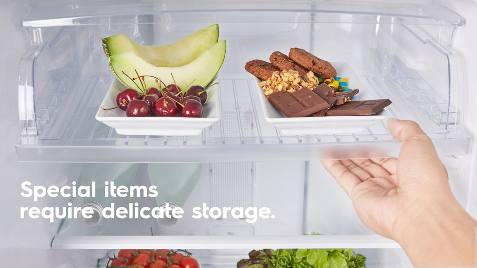 Special items require delicate storage.